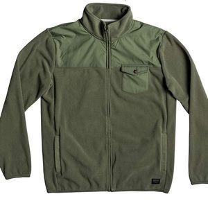 Quiksilver Men's Timberlost Polar Fleece Half Zip